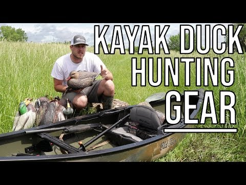 The Gear You Should Use For Kayak Duck Hunting
