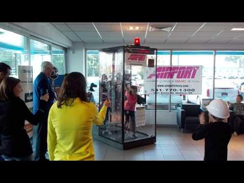 Airport Chevy 2013 Student Cash Grab for Schools -- Medford Montessori School