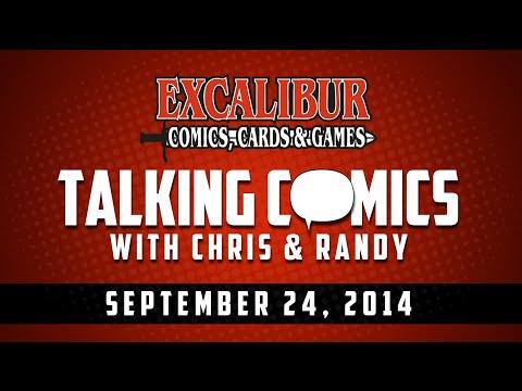 Talking Comics for 09.24.14 - Roche Limit #1, G.I. Joe (2014) #1, Butterfly #1, Aliens #1, & More!