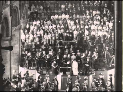 Bach B-minor Mass Kyrie - the first ever recording (1929)