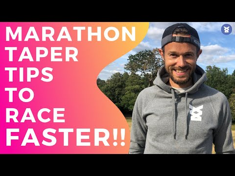 MARATHON TAPER TIPS Quick and EASY TIPS to get you a PB!