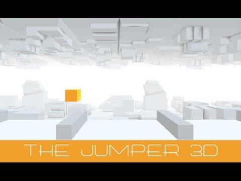 The jumper 3D - управляйте маленьким кубом.