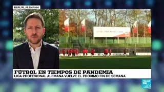 Covid 19 la vuelta al mundo de France 24 fútbol en tiempos de pandemia en Europa