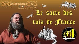 Le sacre des rois de France