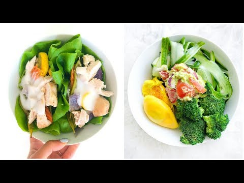 WHAT I EAT IN A DAY! HEALTHY EASY QUICK MEALS TO GET LEAN!