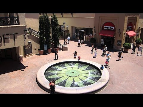 Amerika'da Alışveriş Merkezi Gezintisi: Fashion Island - Newport