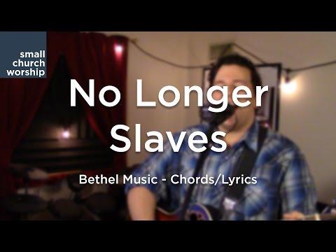 No Longer Slaves Bethel Tutorial One Finger Chords w Chord Chart Mp3 ...