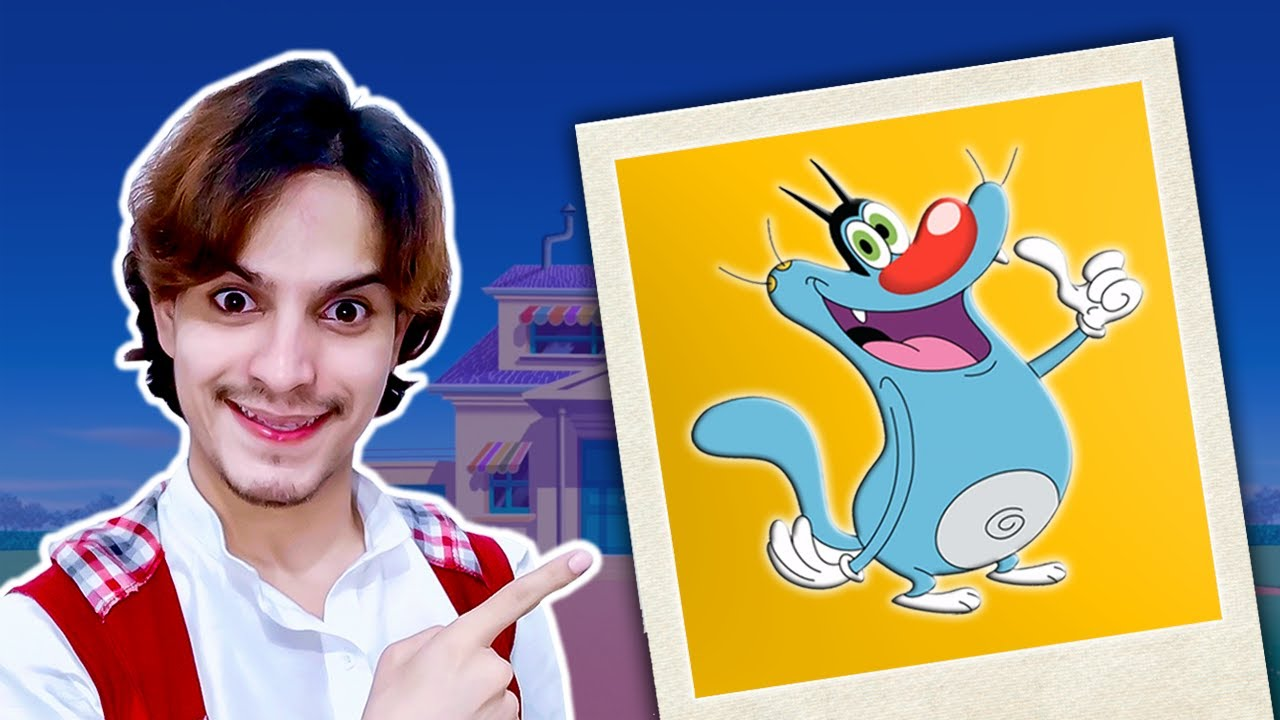 Oggy and the Cockroaches | Mimicry VS Art | RK Aadil
