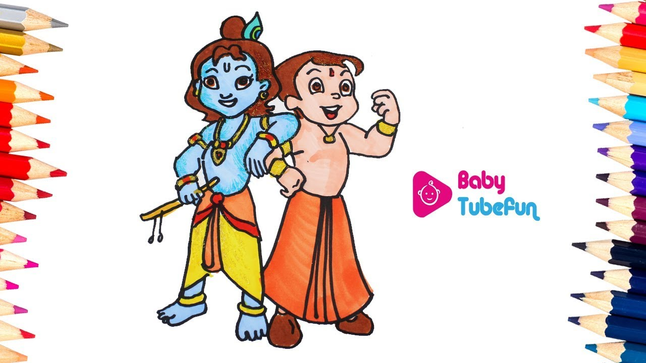 Chota Bheem Colouring Book