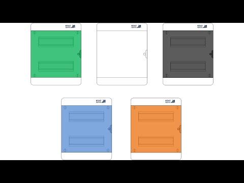 Видео: Обзор щита OptiBox из набора электрика для visio