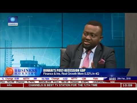 Nigeria's FY:2017 GDP Figures and the Financial Sector