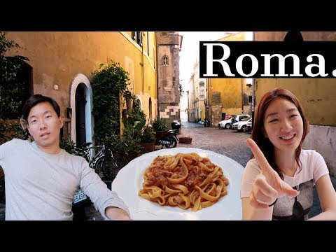 Our 1st Time in Rome, Italy.