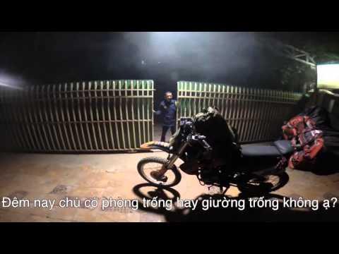 Hành chình phượt Lào Campodia  Việt Nam Thái Lan bằng xe moto của diễn viên Linh Sơn hót 6