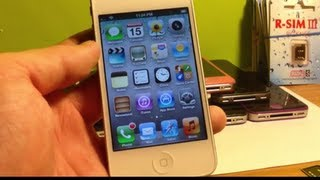 How to Unlock ANY iPhone 4S iOS 6.1.3/6.1.2/6.1/6.0/.6.0.1/5.1.1/2.0.12 or Lower Sprint/Verizon/At
