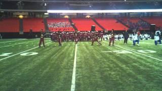 bcu drum majors at honda 2012 practice