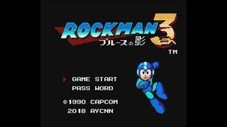 Rockman 3 EX: Blues no Kage (NES/FC) - Longplay