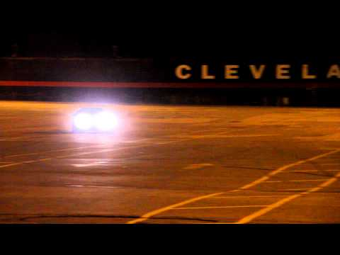 240 Drifting in Cleveland Parking lot