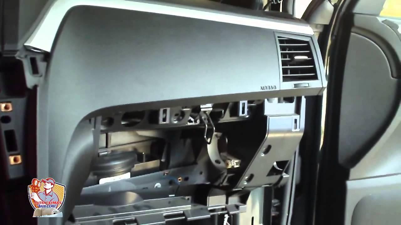 Autoclimas Quot Bajo Cero Quot Cambio De Evaporador De Chevrolet