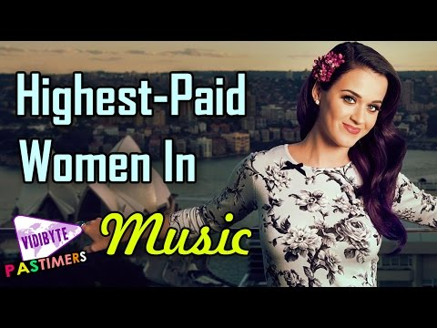 The World's Highest Paid Women In Music 2015