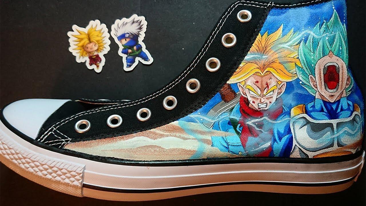 83e142e181e5 How to Paint Custom Dragonball Shoes