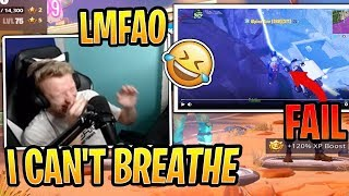 Tfue Reacts to Noob That Killed Both Him and Cloakzy Then FAILS! - Fortnite Best and Funny Moments