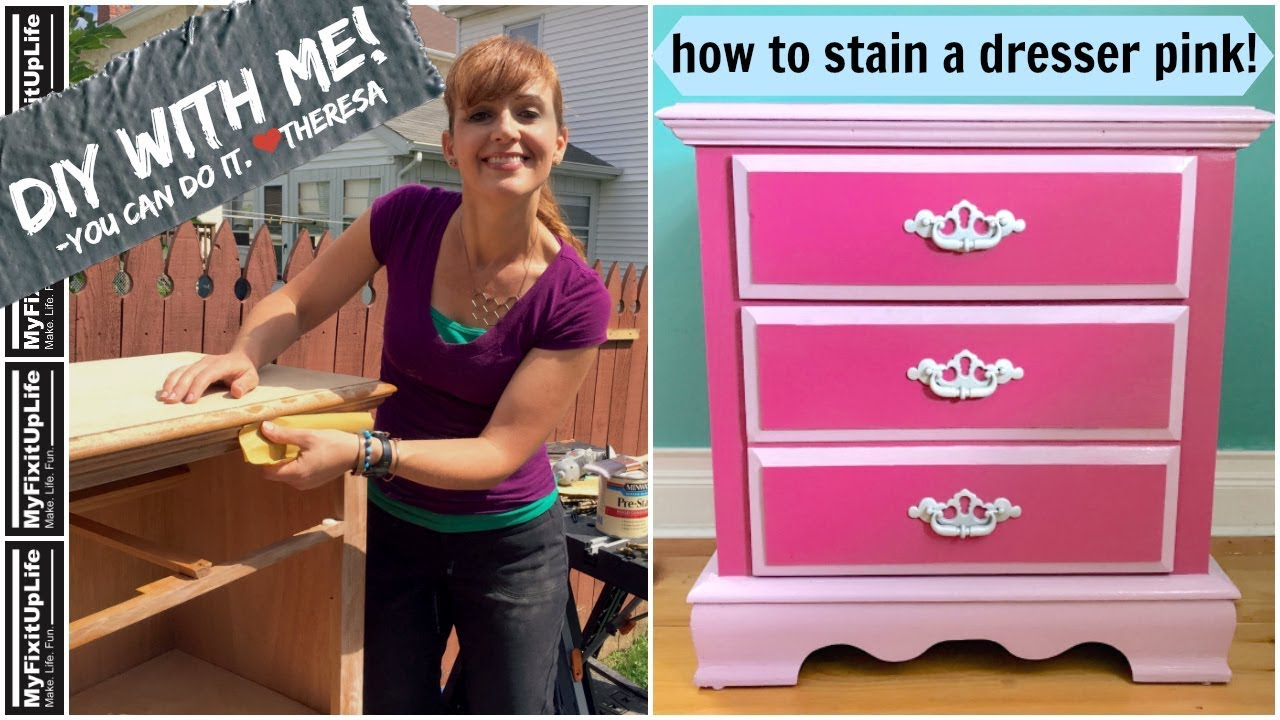 How To Stain A Wood Dresser For Your