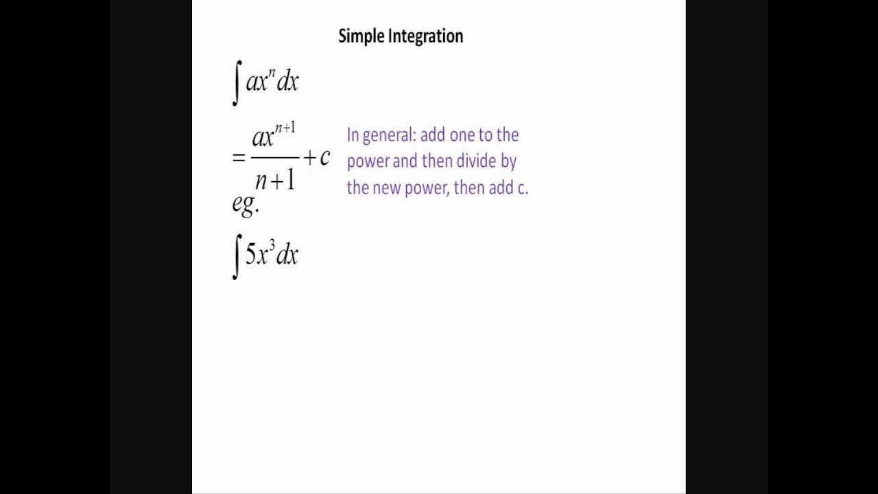 Lebesgue integration - simple problems youtube.