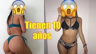 ADIVINA LA EDAD DE ESTAS CHICAS/CHALLENGE- MALU TREVEJO TIENEN 10 AÑOS?