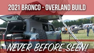 This NEW 2021 Ford BRONCO has never been seen before!!! (Overland Build)