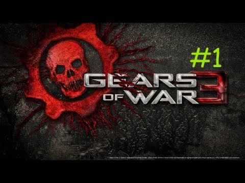 Gears of War 3: Walkthrough - Part 1 (Act 1) - Intro - Lets Play (GoW3 Gameplay)