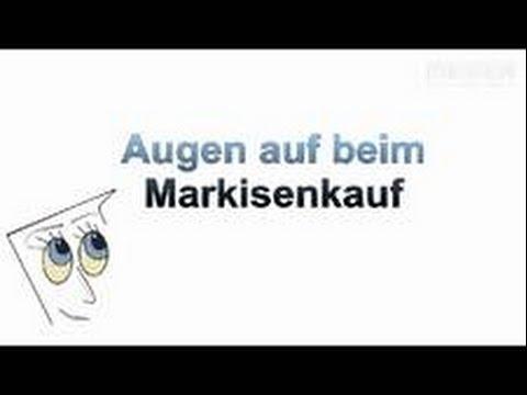 Markisen Kauftipps Von Mester Aus Bielefeld Youtube
