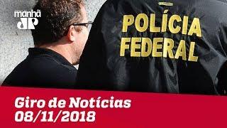 Giro de Notícias - 08/11/2018 - Primeira Edição