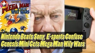 Nintendo Switch Outsold PS4, People Don't Understand Games, Genesis Mini Games Updated - NYM Recap