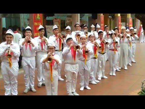 Phần trình diễn của đội NGHI THỨC Quận Hoàn Kiếm