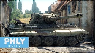 The KING Has BECOME STRONGER | King Tiger 10.5cm 6.7 (War Thunder Tanks)