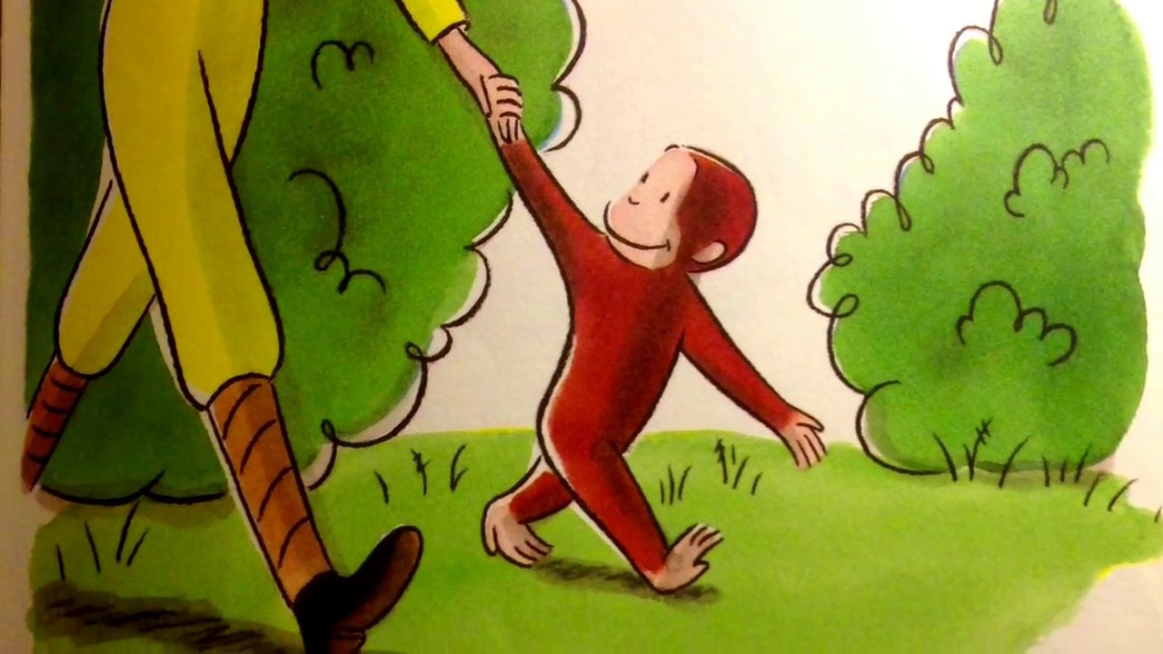 Curious George And The Puppies By Margaret H A Reys Youtube