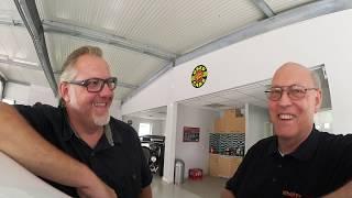 Youtuber Horst Lüning zu Besuch !  Talk über Tesla und die Welt.