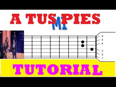 como tocar en guitarra no hay lugar mas alto (tutorial)