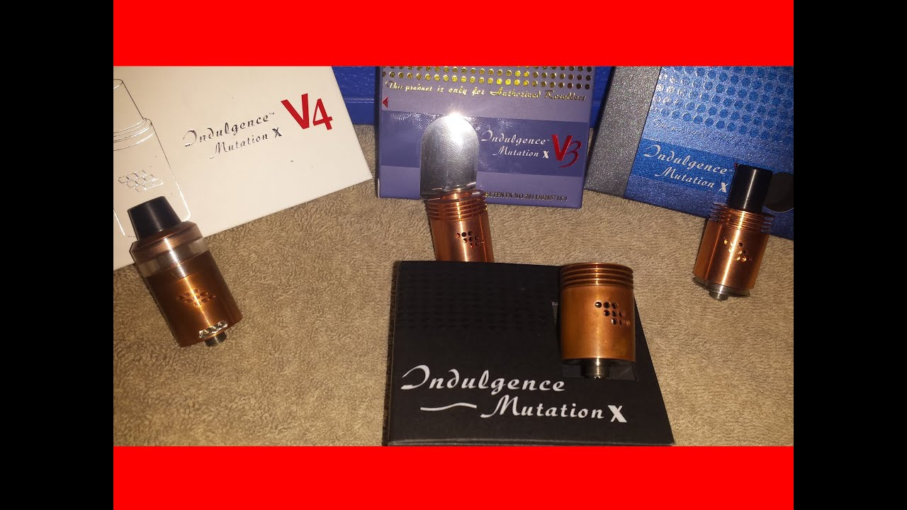 Mutation X RDA V1 V2 V3 V4 . Which one is right for you? - YouTube