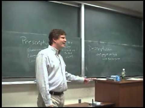 Prescriptivism, Descriptivism, Grammaticality, Acceptabiity, Language Education and Japan  Part I