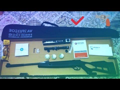 Hatsan (turcar) Striker Edge 2018 kutu açılımı (bozkurt av-hatsan Store).