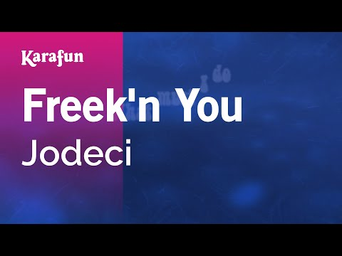 Karaoke Freek'n You - Jodeci *