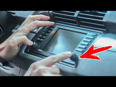 Как перезагрузить радио модуль BMW X5 E53 завис
