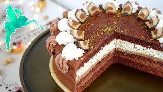 Mozart Torte - Torte mit Nougat, Schokolade, Marzipan & Pistazien - Mozartkugeltorte - Kuchenfee