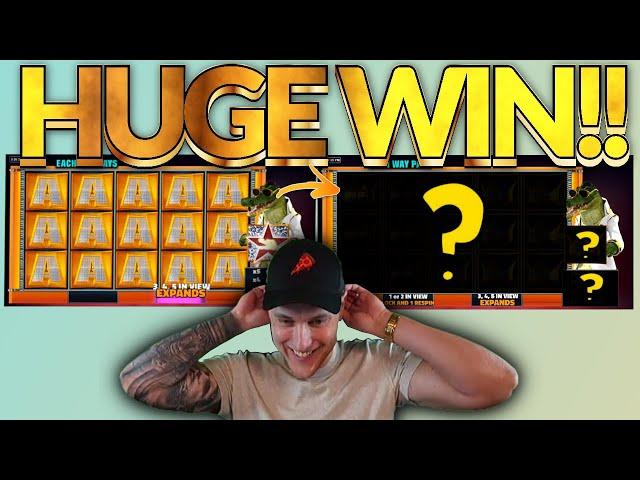 MEGA WIN! Gator King Big win - HUGE WIN on Casino slots from Casinodaddy