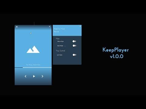 JavaFX Music Player Inspiration