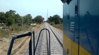 Sri Lanka Railways 1st trial run to Kilinochchi