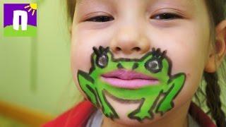 Необычный аквагрим для детей своими руками / Рисунки на лице