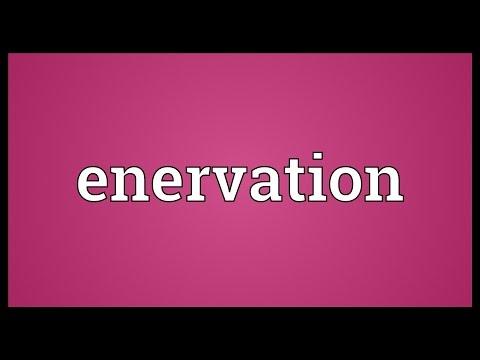 Header of enervation
