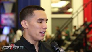 Oscar Valdez on fighting for a world title & potentially stealing the show from Crawford vs Postol